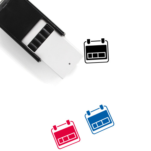 Day Self-Inking Rubber Stamp No. 104