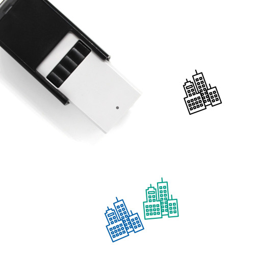 City Self-Inking Rubber Stamp No. 171