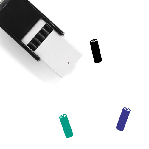 Battery Self-Inking Rubber Stamp No. 365