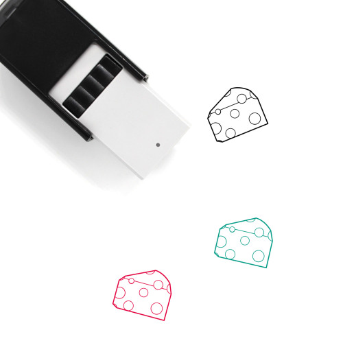 Cheese Self-Inking Rubber Stamp No. 71