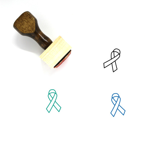 Awareness Wooden Rubber Stamp No. 7