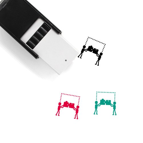 Coworking Self-Inking Rubber Stamp No. 3