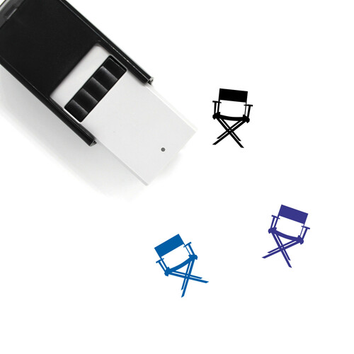 Director'S Chair Self-Inking Rubber Stamp No. 4