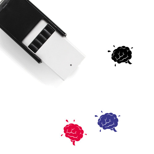Brains Self-Inking Rubber Stamp No. 5