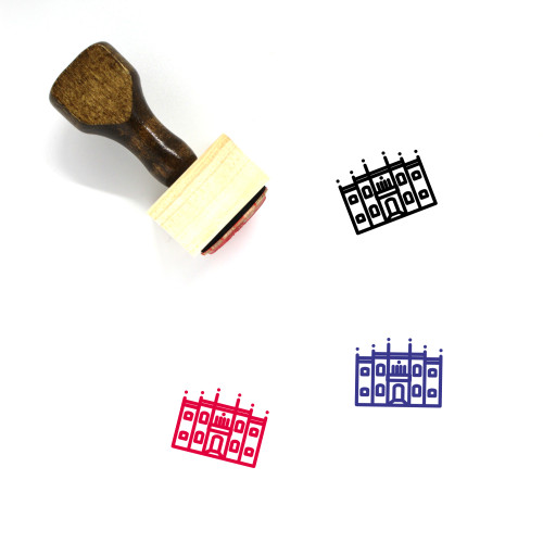 Natural History Museum Wooden Rubber Stamp No. 1