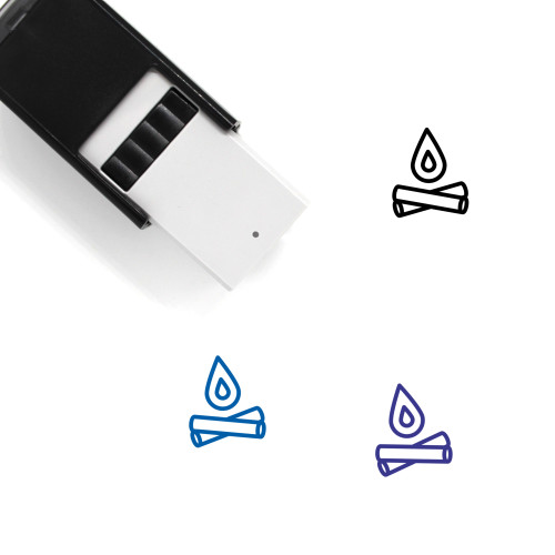 Fire Self-Inking Rubber Stamp No. 110