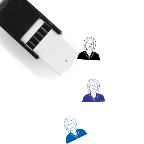 Hillary Clinton Self-Inking Rubber Stamp No. 12