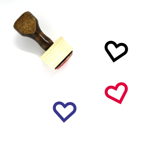 Love Wooden Rubber Stamp No. 550