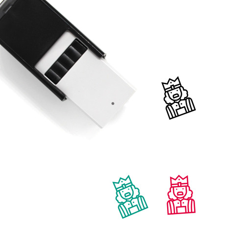 King Self-Inking Rubber Stamp No. 366