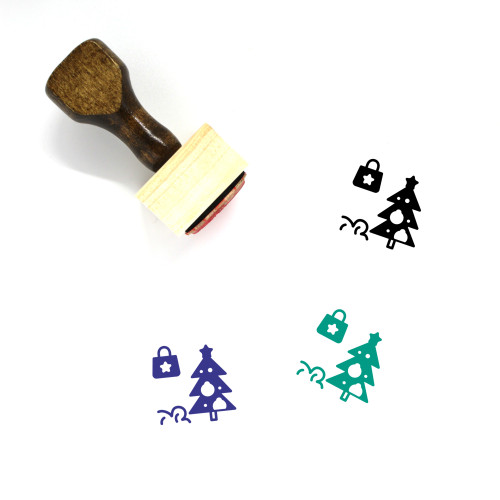 Black Friday Wooden Rubber Stamp No. 2
