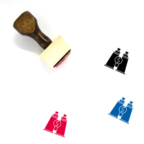 Ambition Wooden Rubber Stamp No. 1