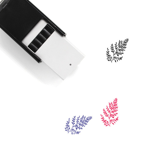 Aromatic Herbs Self-Inking Rubber Stamp No. 14