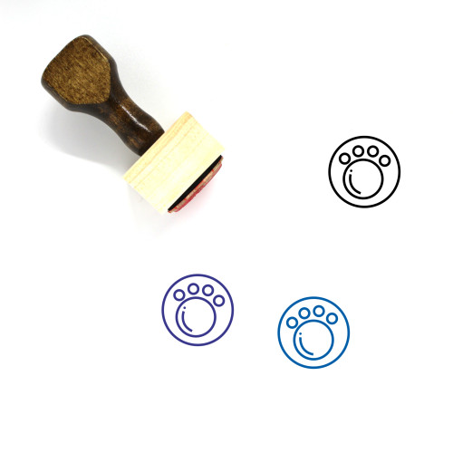 Animal Wooden Rubber Stamp No. 118