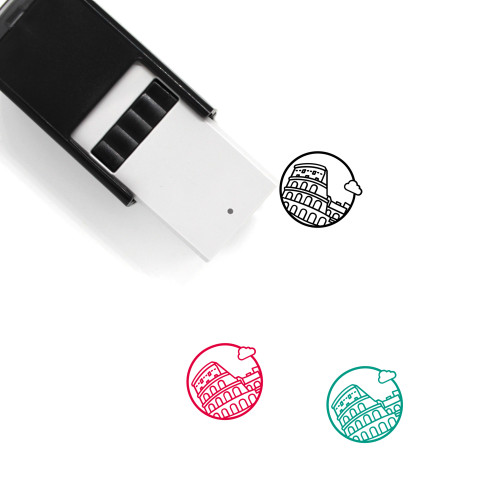 Colosseum Self-Inking Rubber Stamp No. 30