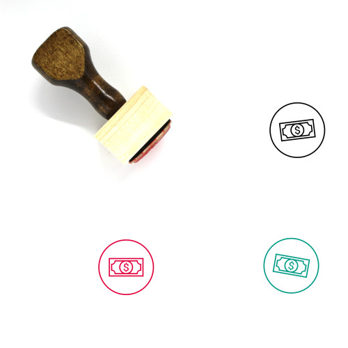 Account Wooden Rubber Stamp No. 137