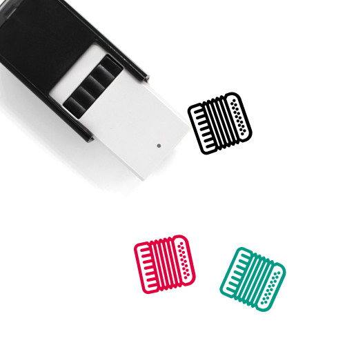 Accordion Self-Inking Rubber Stamp No. 5