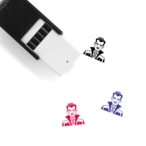 Count Self-Inking Rubber Stamp No. 9
