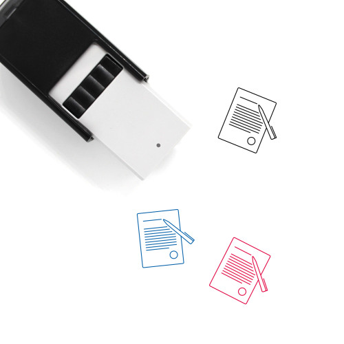 Letter Self-Inking Rubber Stamp No. 99