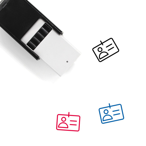 Identification Self-Inking Rubber Stamp No. 68
