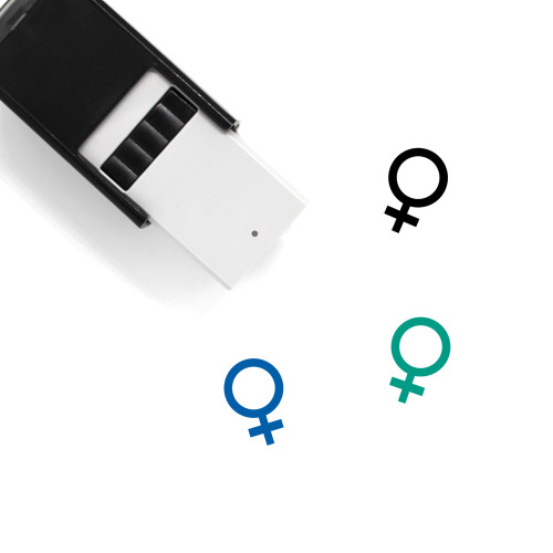 Female Self-Inking Rubber Stamp No. 216