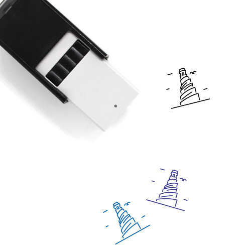 Minaret Self-Inking Rubber Stamp No. 18