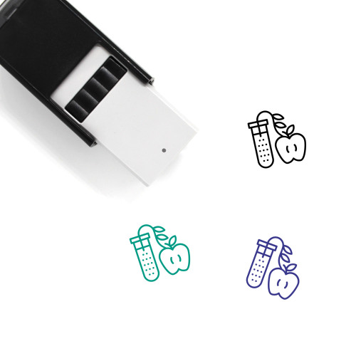 Modified Apple Self-Inking Rubber Stamp No. 2