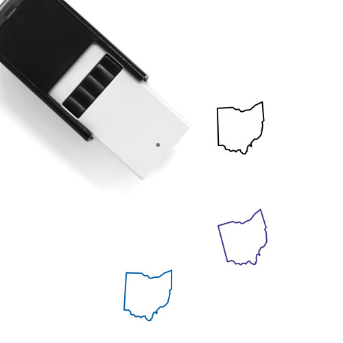 Ohio Self-Inking Rubber Stamp No. 45
