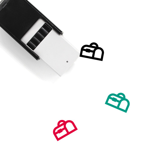 Lunch Box Self-Inking Rubber Stamp No. 14