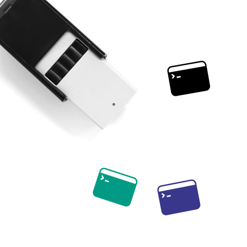 Prompt Self-Inking Rubber Stamp No. 1