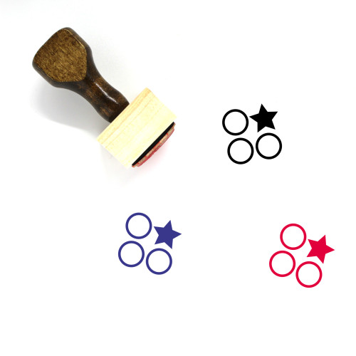 Differentiate Wooden Rubber Stamp No. 3