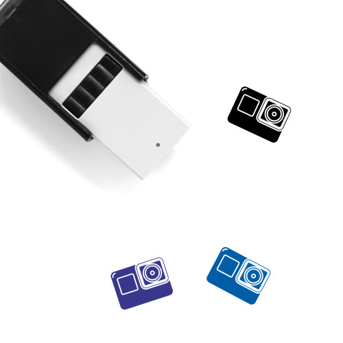 Action Camera Self-Inking Rubber Stamp No. 34