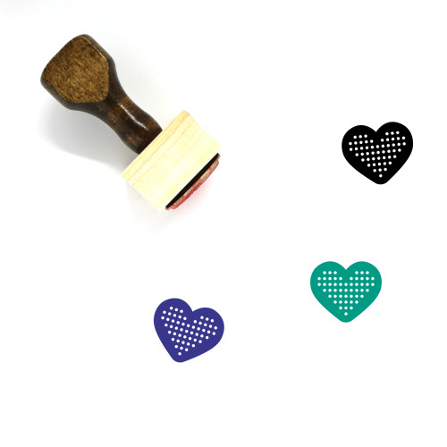 Love Wooden Rubber Stamp No. 562