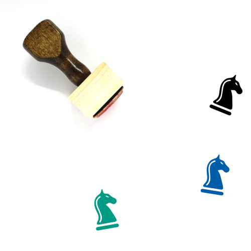 Knight Wooden Rubber Stamp No. 76