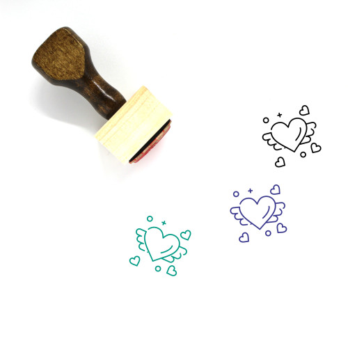 Loving Wooden Rubber Stamp No. 8