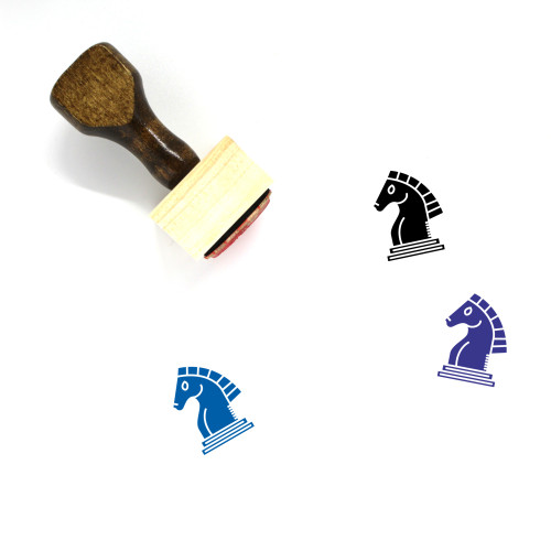 Knight Wooden Rubber Stamp No. 77