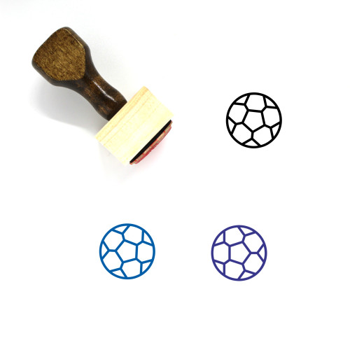 Sport Wooden Rubber Stamp No. 77