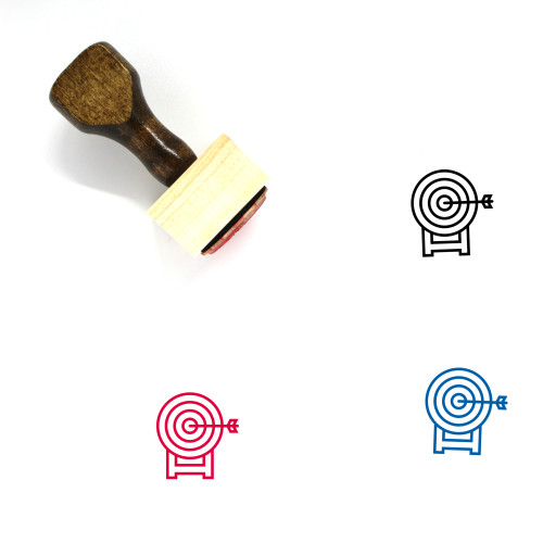 Target Wooden Rubber Stamp No. 186