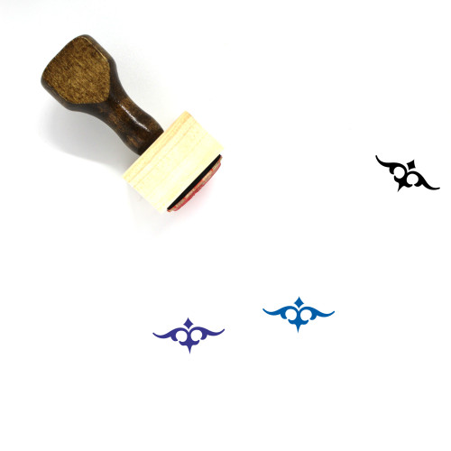 Embellishment Wooden Rubber Stamp No. 2