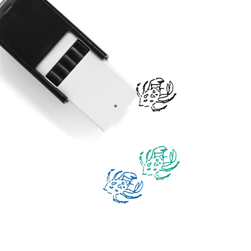 Crab Self-Inking Rubber Stamp No. 42