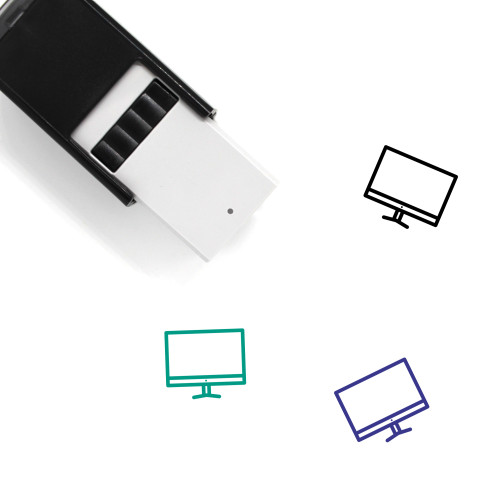 Monitor Self-Inking Rubber Stamp No. 148