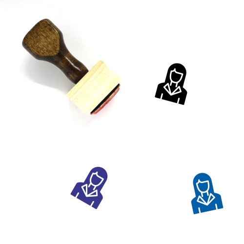Real Estate Agent Wooden Rubber Stamp No. 9