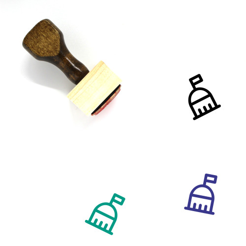 United States Capitol Wooden Rubber Stamp No. 5