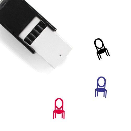 Chair Self-Inking Rubber Stamp No. 148