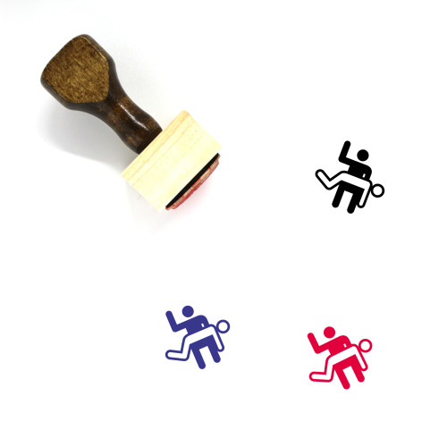 Spanking Wooden Rubber Stamp No. 2
