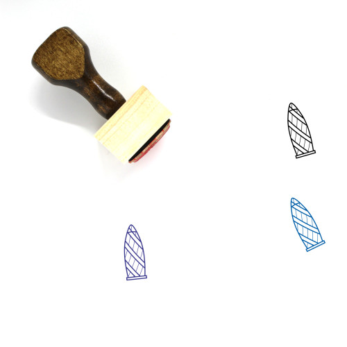 30 St Mary Axe Wooden Rubber Stamp No. 2
