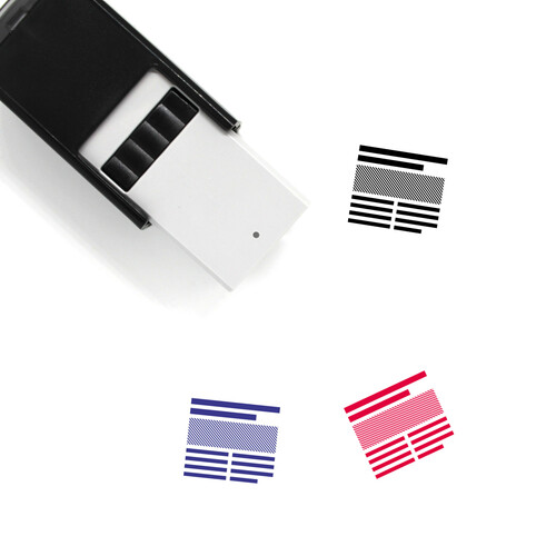 Article Self-Inking Rubber Stamp No. 34