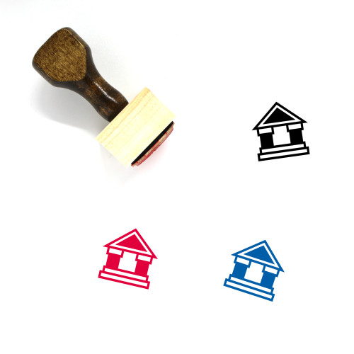 Court Wooden Rubber Stamp No. 139
