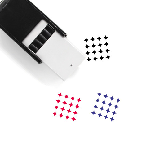 Pattern Self-Inking Rubber Stamp No. 167
