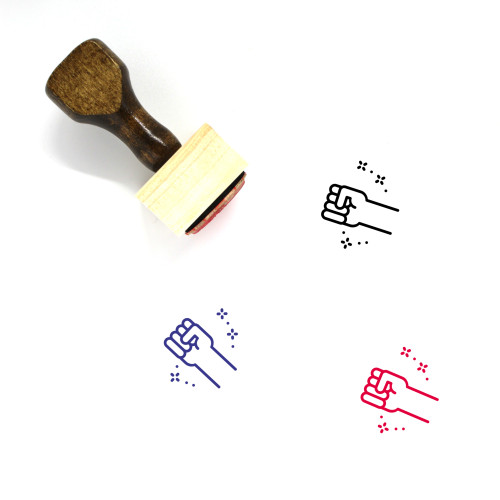 Martin Luther King Wooden Rubber Stamp No. 1