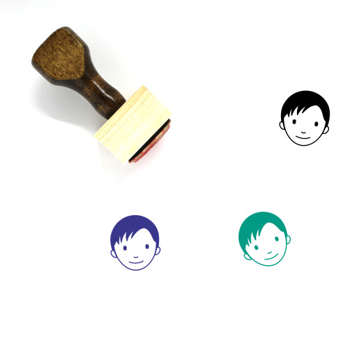 Brother Wooden Rubber Stamp No. 2